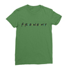 Frenemy leaf green women tshirt
