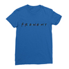 Frenemy royal blue women tshirt