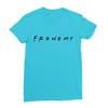 Frenemy turquoise women tshirt