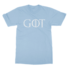 Got baby blue men tshirt