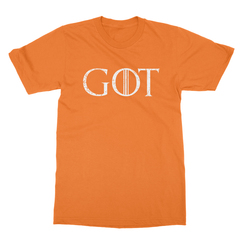 Got orange men tshirt