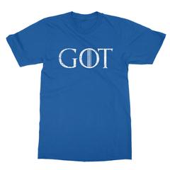 Got royal blue men tshirt
