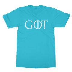 Got turquoise men tshirt