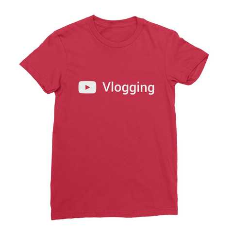 Youtube Vlogging Women's T-Shirt