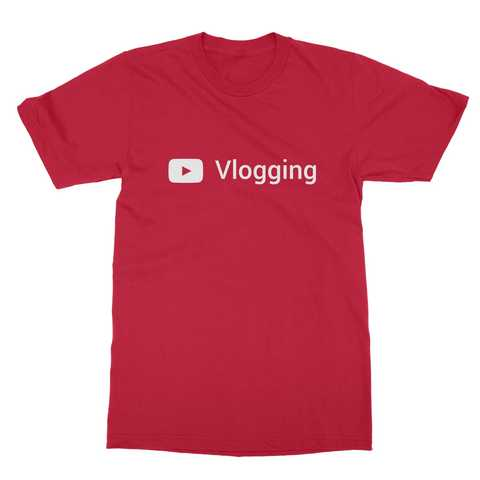 Youtube Vlogging Men's T-Shirt