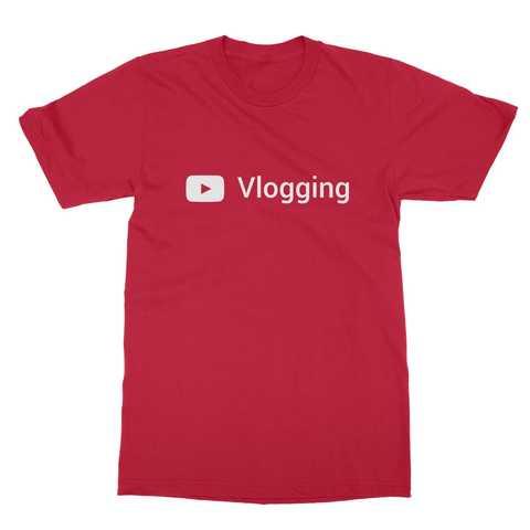 Youtube Vlogging Men's T-Shirt