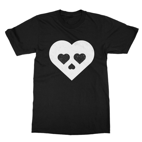 Heart Skull Men's T-Shirt
