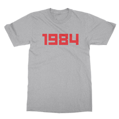 1984 athletic heather men tshirt
