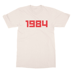 1984 cream men tshirt