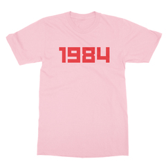 1984 pink men tshirt