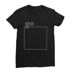 Outside The Box (White Line) Women's T-shirt