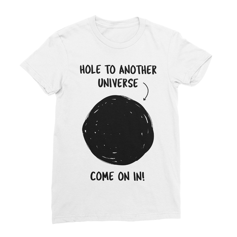 Hole To Another Universe In Women's T-Shirt