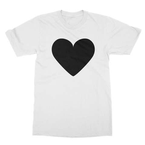Black Heart Men's T-Shirt