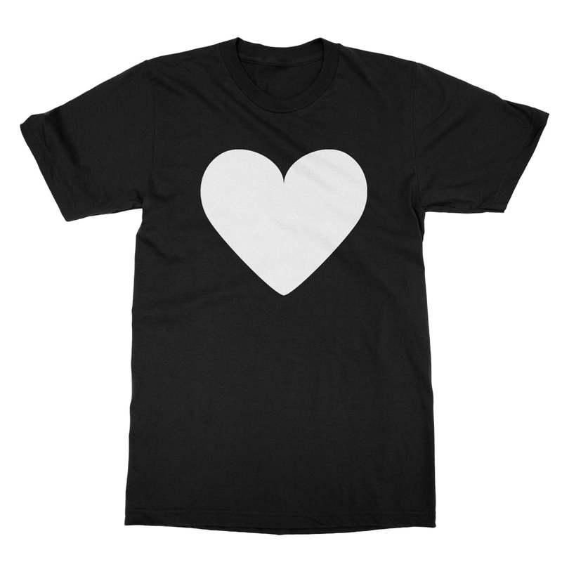 White Heart Men's T-Shirt