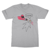 Deadpool ouchie athletic heather men tshirt