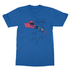 Deadpool ouchie royal blue men tshirt