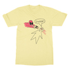 Deadpool ouchie yellow men tshirt