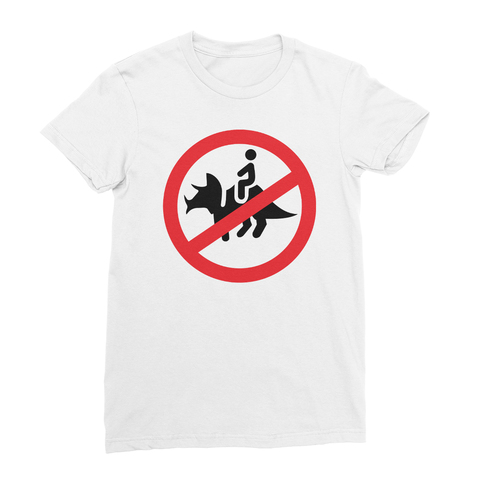 No Dinosaurs Women's T-Shirt