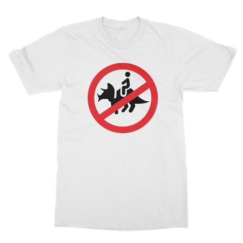 No Dinosaurs Men's T-Shirt