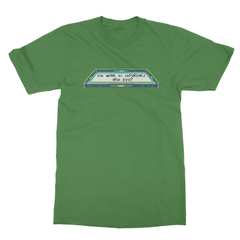 True level leaf green men tshirt
