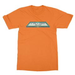 True level orange men tshirt