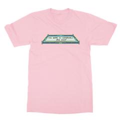 True level pink men tshirt