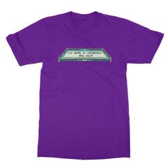 True level purple men tshirt