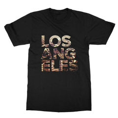 Los Angeles x Hollywood Sign Landmark Men's T-Shirt