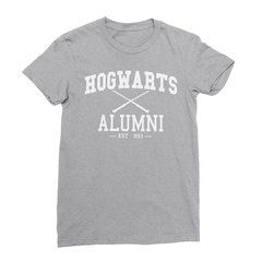 Hogwarts alumni athletic heather women tshirt