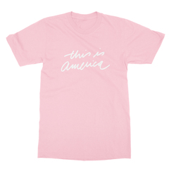 This is america pink men tshirt