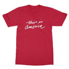 This is america red men tshirt