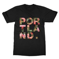 Portland x City of Roses Landmark Men's T-Shirt