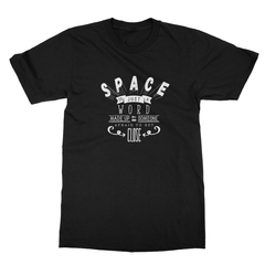 Space Is Just A Word (White Print) Men's T-Shirt
