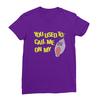Shellphone purple women tshirt
