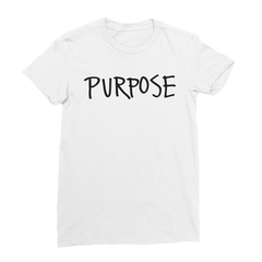 Purpose Women's (Black Print) T-Shirt