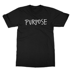 Purpose Men's (White Print) T-Shirt