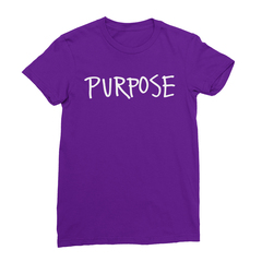 Purpose Women's (White Print) T-Shirt