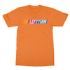 Left turn orange men tshirt